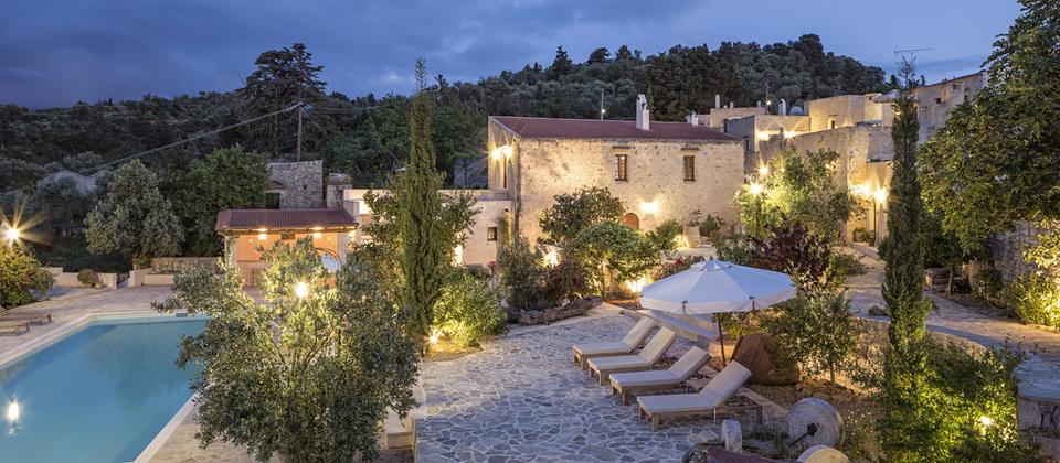 Kapsaliana village die reisephilosophen for Design hotel kreta